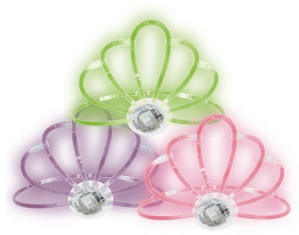 Glow Tiara - Assorted Colours